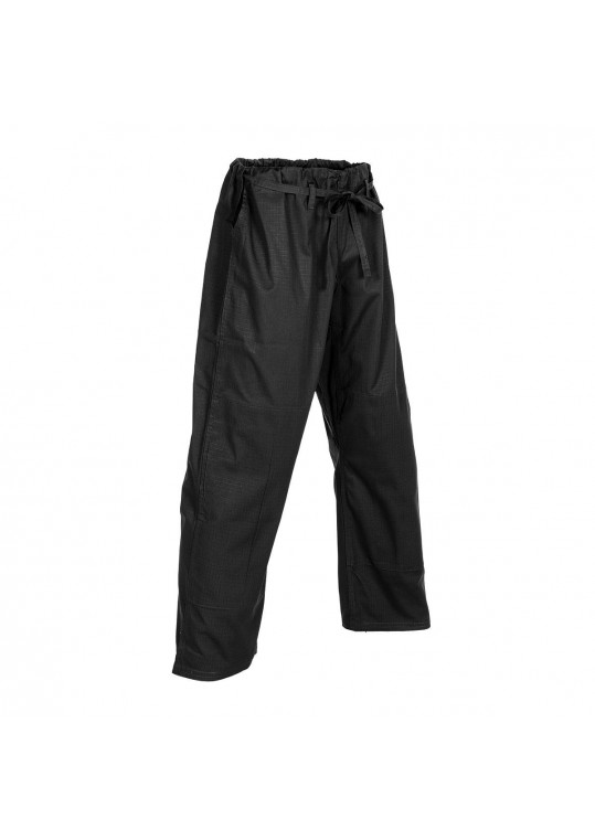 6 oz. Ripstop BJJ Traditional Pants-BLACK