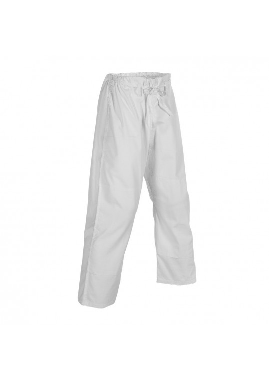 6 oz. Ripstop BJJ Traditional Pants-WHITE