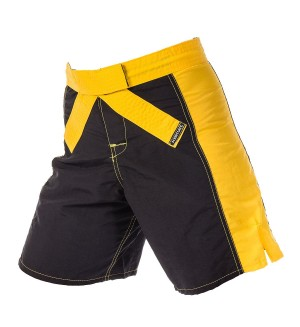 Belt Rank Shorts (Blk/Yel, Blk/Org, Blk/Grn)