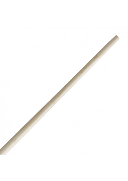 Youth Tapered White Wax Bo Staff
