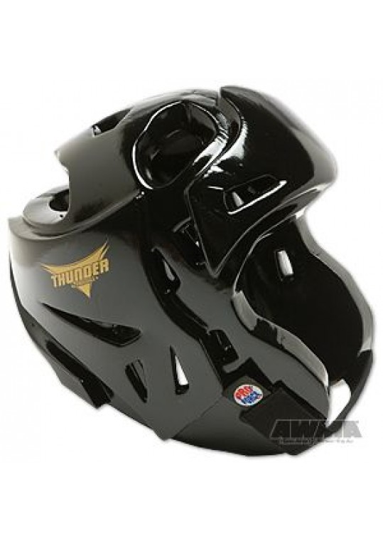 ProForce® Thunder Double Layered Headguard - Plain Black