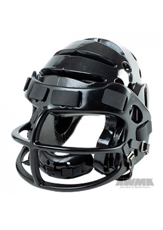 ProForce® Lightning Helmet with Faceguard - Black/Black