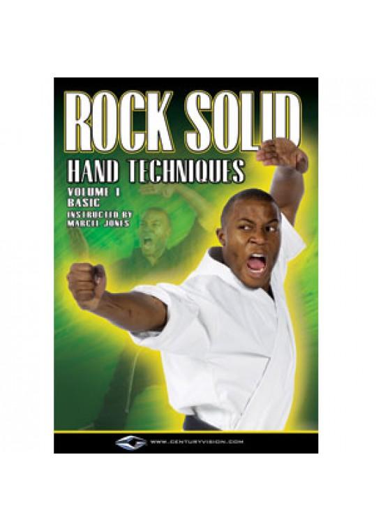 Marcel Jones Rock Solid: Hand Techniques