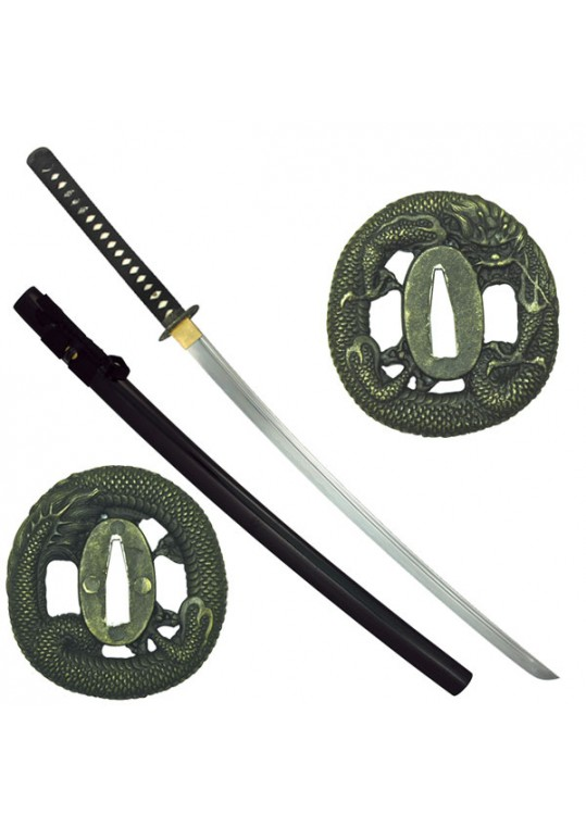 HAND FORGED SAMURAI SWORD 40.9 OVERALL