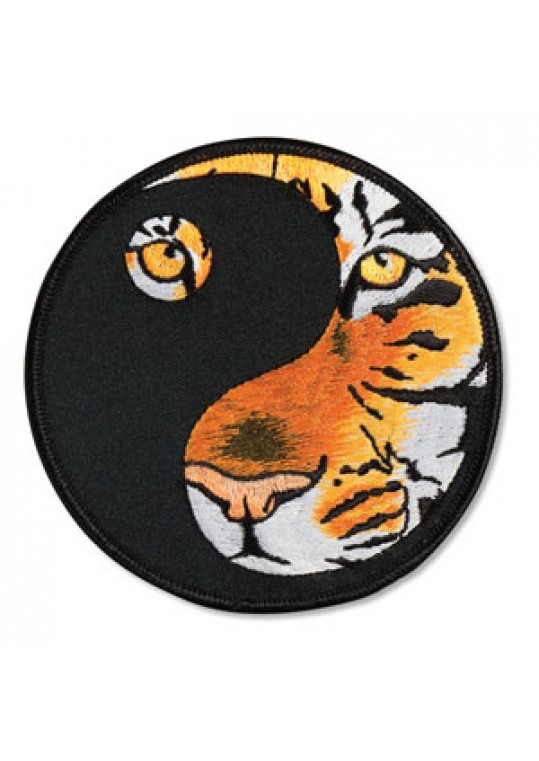 Yin Yang Tiger Patch