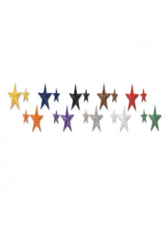 Star Patches - 10 Pack
