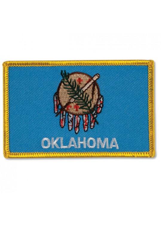 Oklahoma Flag Patch