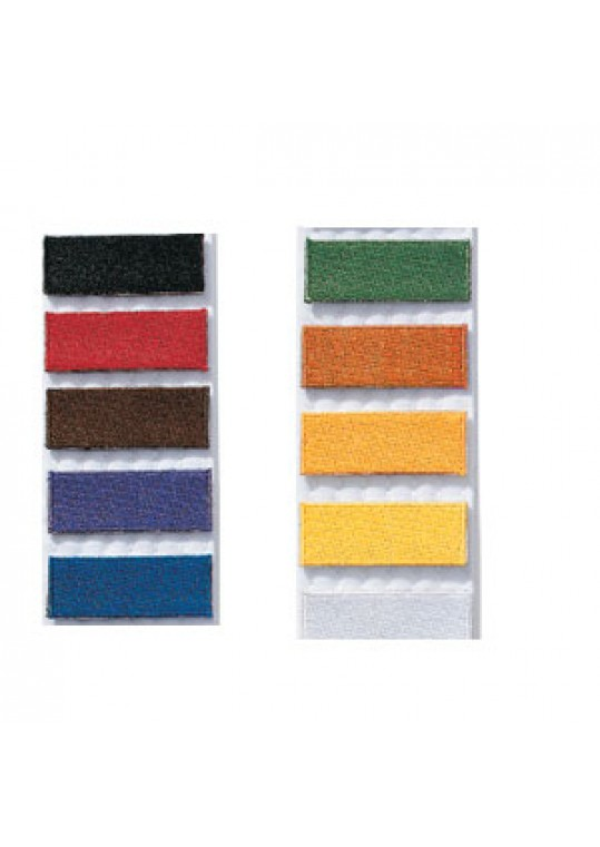 Iron On Stripe Patch - 10 pack