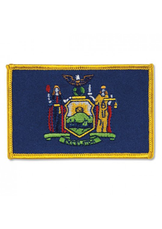 New York Flag Patch