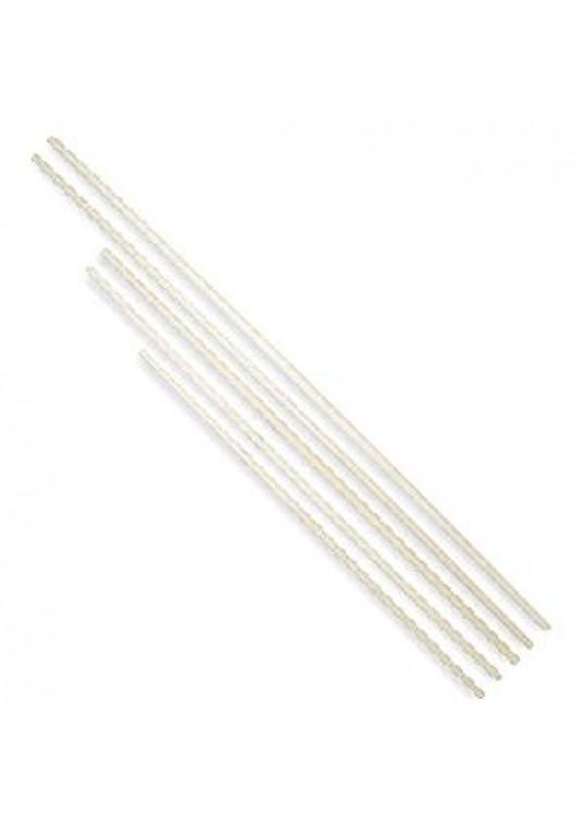 Adult Tapered White Wax Bo Staff
