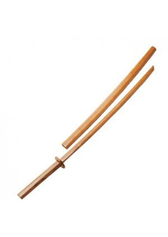 Bokken With Wood Scabbard - 41""
