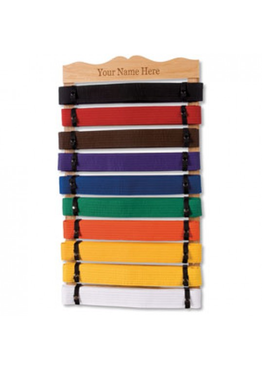 Rank Belt Display - 10 Level