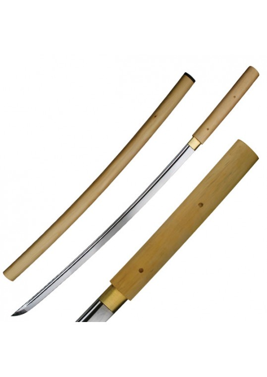 "HAND FORGED SAMURAI SWORD 40"" OVERALL"