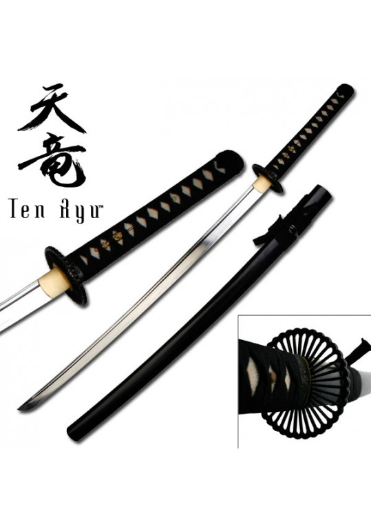 "HAND FORGED SAMURAI SWORD 40.5"" OVERALL"
