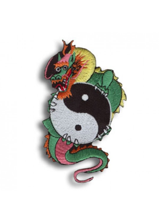 Dragon/Yin & Yang Patch
