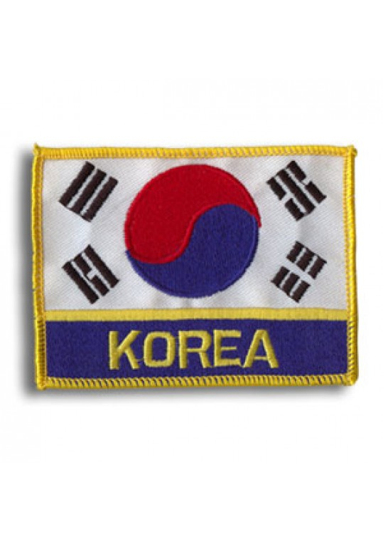 Korea Flag-Deluxe Patch