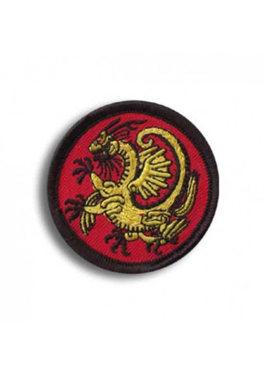 Mini Gold Dragon Patch