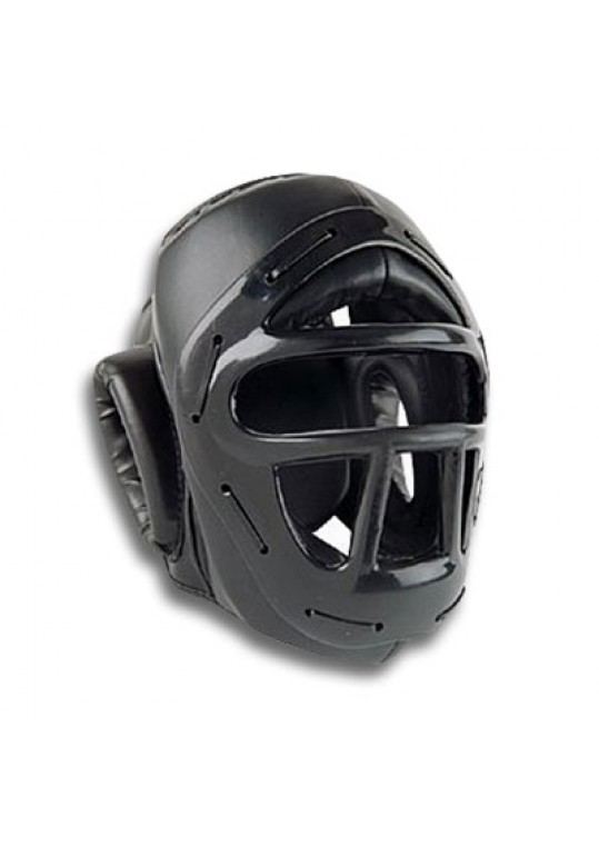 ProForce® Headguard w/Face Cage - Black