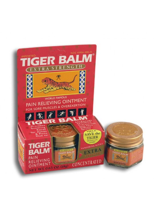 Extra Strength Tiger Balm Ointment (Deep Heating)