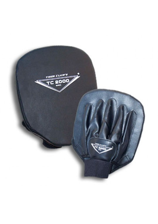 Black Leather Focus Mitt