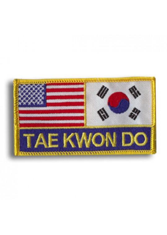 USA & Korea-Tae Kwon Do Patch