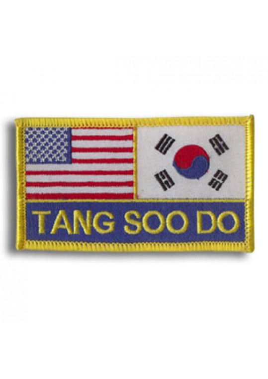 USA & Korea-Tang Soo Do Patch